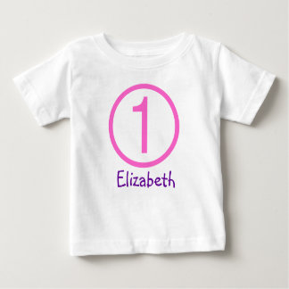 Alters-und Namen-kundengerechtes 1. Tshirts