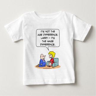 Altersunterschied-Lohnantrag Baby T-shirt