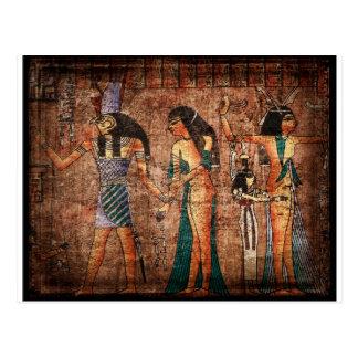 Altes Ägypten 4 Postkarten