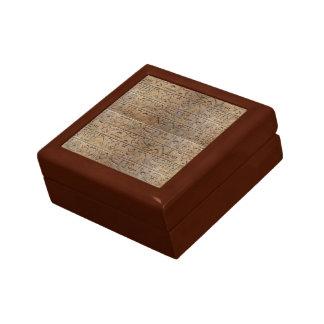 Altes ägyptisches Hieroglyphen-Designer-Geschenk Geschenkbox