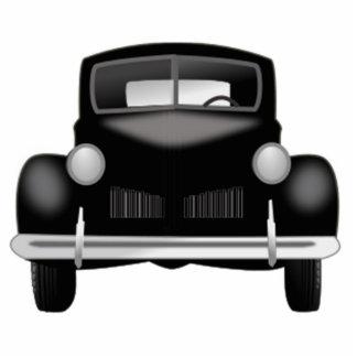 Altes antikes Auto Freistehende Fotoskulptur