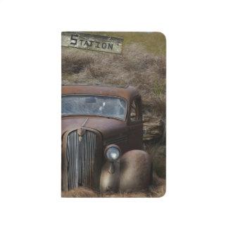 Altes Auto Taschennotizbuch