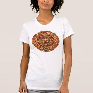 Altes aztekisches Symbol-T-Shirt Maya` T-Shirt