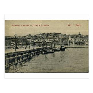 Altes Baku - Pier u. Gewohnheiten - Pristan I Postkarte