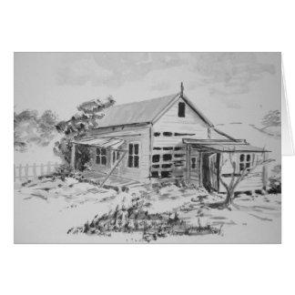 Altes Bauernhof-Haus Karte