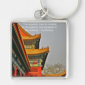Altes chinesisches schlüsselanhänger