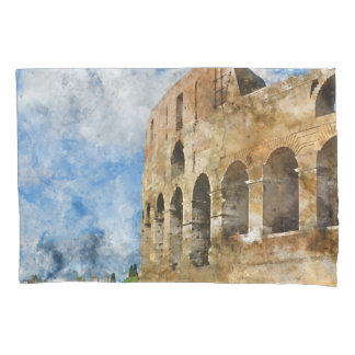 Altes Colosseum in Rom Italien Kissen Bezug