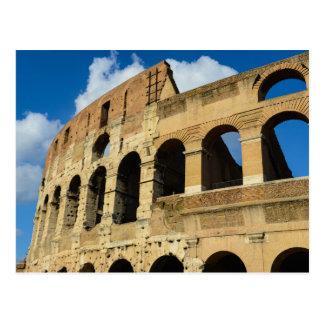 Altes Colosseum in Rom, Italien Postkarte
