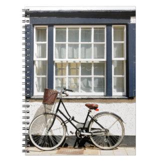 Altes Fahrrad Notizblock