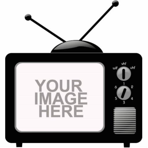 Altes Fernsehen Fotoausschnitt