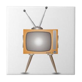 Altes Fernsehen Keramikfliese