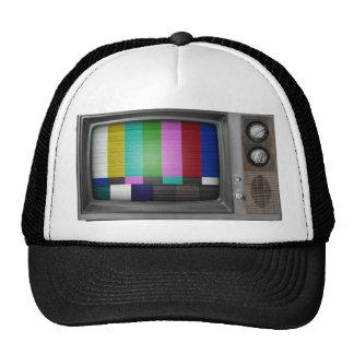 Altes Fernsehen Retromütze