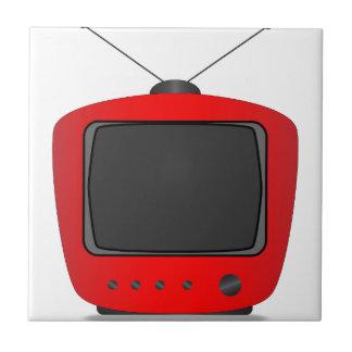 Altes FernsehSet Keramikfliese