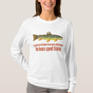 Altes Fischen-Sprichwort T-Shirt