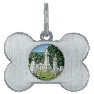 Altes Friedhofs-Monument-Leben-Zitat Tiermarke
