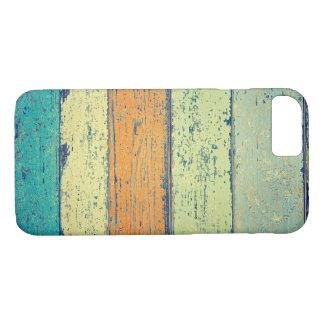 Altes gemaltes Holz iPhone 8/7 Hülle