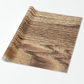 Altes getragenes Holz Geschenkpapier