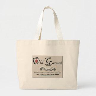 Altes Granats-Logo-große Tasche