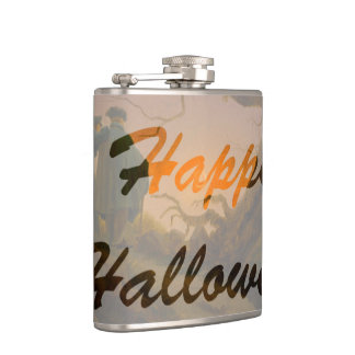 Altes Halloween Flachmann