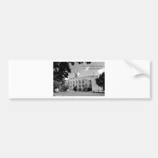 Altes Hauptstadts-Gebäude - Milledgeville, Georgia Autosticker
