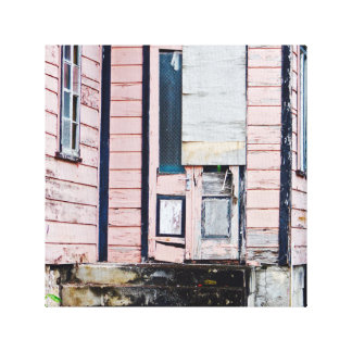 Altes Haus - Barbados - Leinwand-Kunst Leinwanddruck