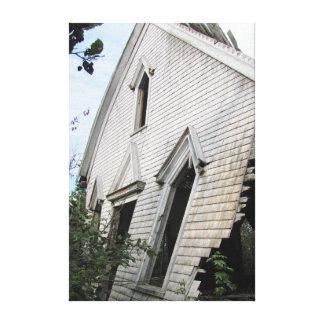 Altes Haus Hampton N.S. Leinwanddruck