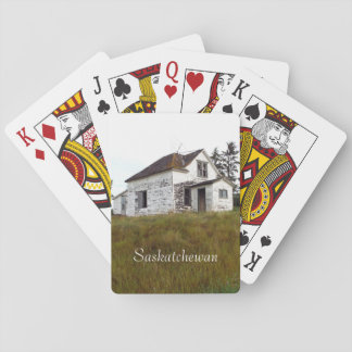 Altes Haus-Spielkarten Spielkarten
