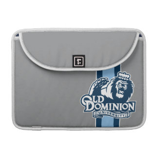 Altes Herrschafts-Hochschullogo - Blau MacBook Pro Sleeve