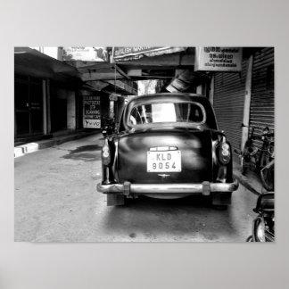 Altes indisches Auto Poster