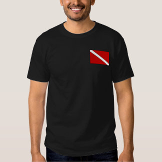 Altes karibisches Karten-Tauchen-Shirt Shirts