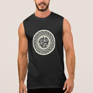 Altes keltisches Muster-Shirt Ärmellose T-Shirts
