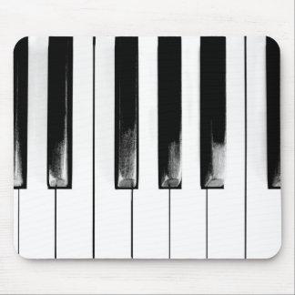 Altes Klavier befestigt lustiges cooles Mauspad