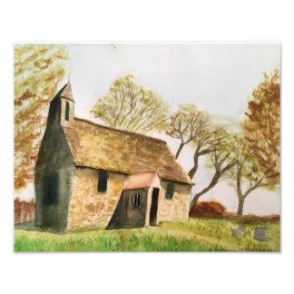 Altes Land-Kirche Fotodruck
