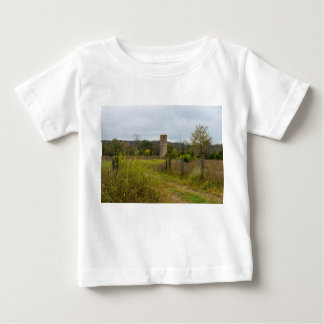 Altes Land-Silo-Landschaft Baby T-shirt