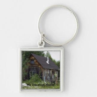 Altes Land-Zuhause Keychain Schlüsselanhänger