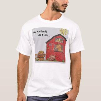 Altes MacDonald hatte einen Bauernhof T-Shirt