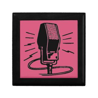 Altes Mikrofon Geschenkbox