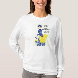 ALTES MODE-MÄDCHENt-stück T-Shirt