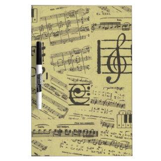 Altes Musik-Papier 2 Trockenlöschtafel