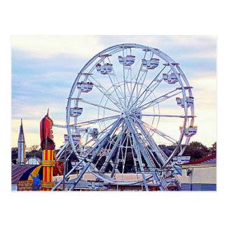 Altes Obstgarten-Strand-Riesenrad Neu-England Postkarte