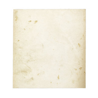 Altes Pergament befleckter gelb gefärbter Vintager Notizblock