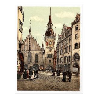 Altes Rathaus, München, Bayern, Deutschland Postkarte