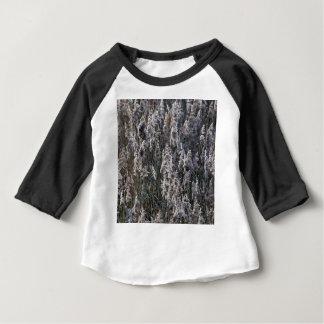 Altes Reedgras an einem Wintertag Baby T-shirt