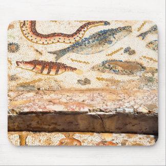 Altes römisches Mosaik Mousepads