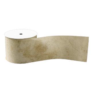 Altes rustikales beflecktes antikes leeres altes ripsband