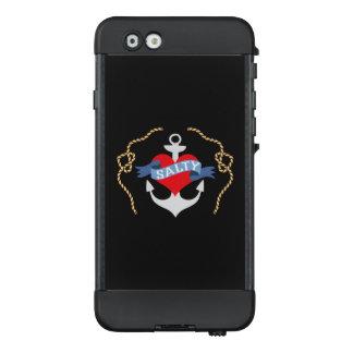 Altes Salz-Herz und Anker nautisch LifeProof NÜÜD iPhone 6 Hülle