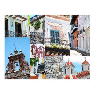 Altes San Juan, Puerto Rico - Postkarte