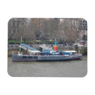 """Altes Schiff auf der Themse London 3"""""""" Magnet x4"""
