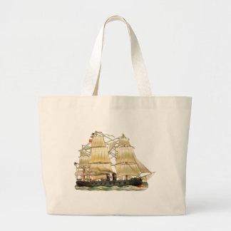Altes Schiff Jumbo Stoffbeutel