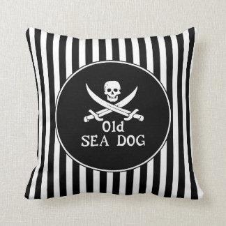 Altes SeehundeWurfs-Kissen Kissen